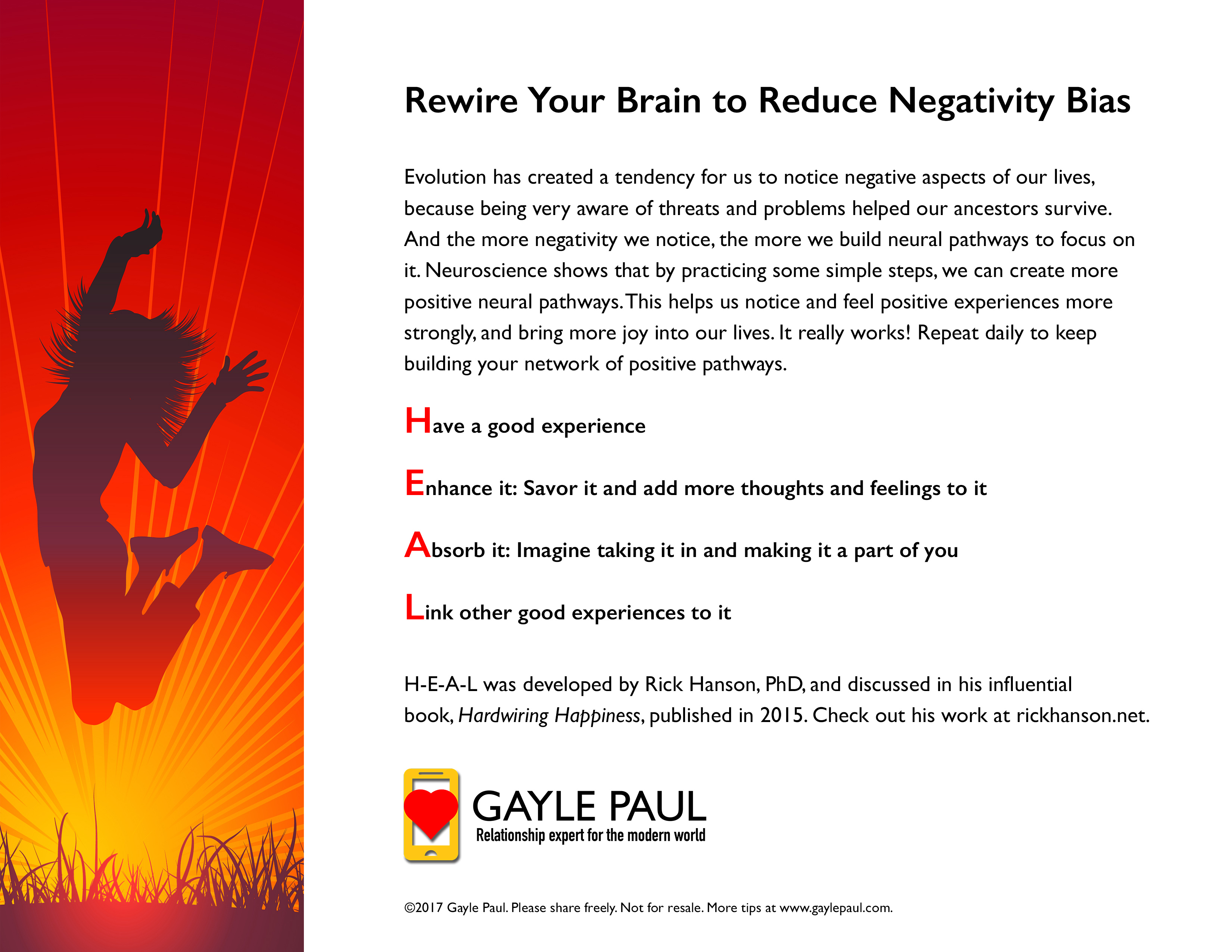 Rewire Your Brain To Reduce Negativity Bias